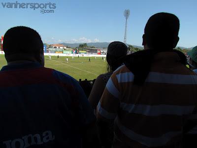 El desorden en los estadios de Honduras