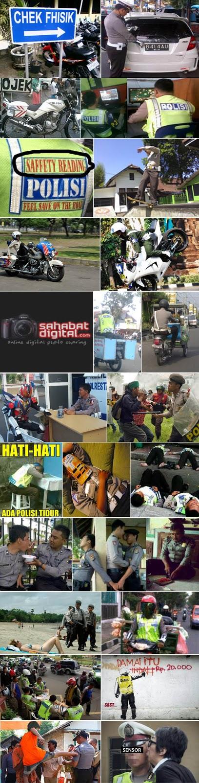 Koleksi Foto Lucu Pak Polisi - Blog Info Fakta Dan Unik