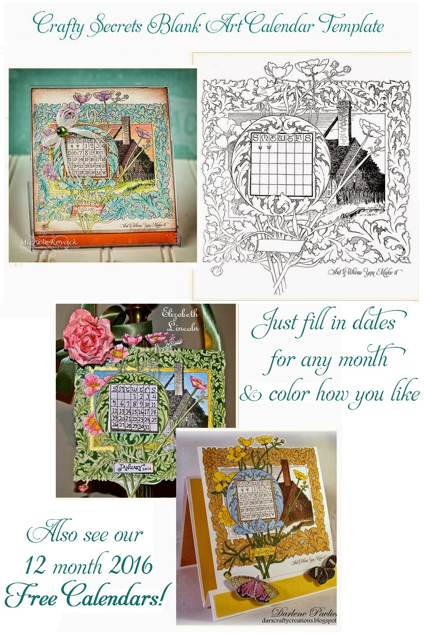 Calendar Ideas Y : Crafty secrets heartwarming vintage ideas and tips free