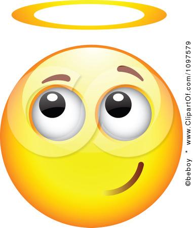 unschuldiger smiley