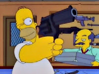 There are some people who shouldn't have guns... Like Homer Simpson...