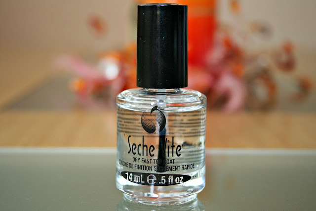 Esmalte top coat seche vite