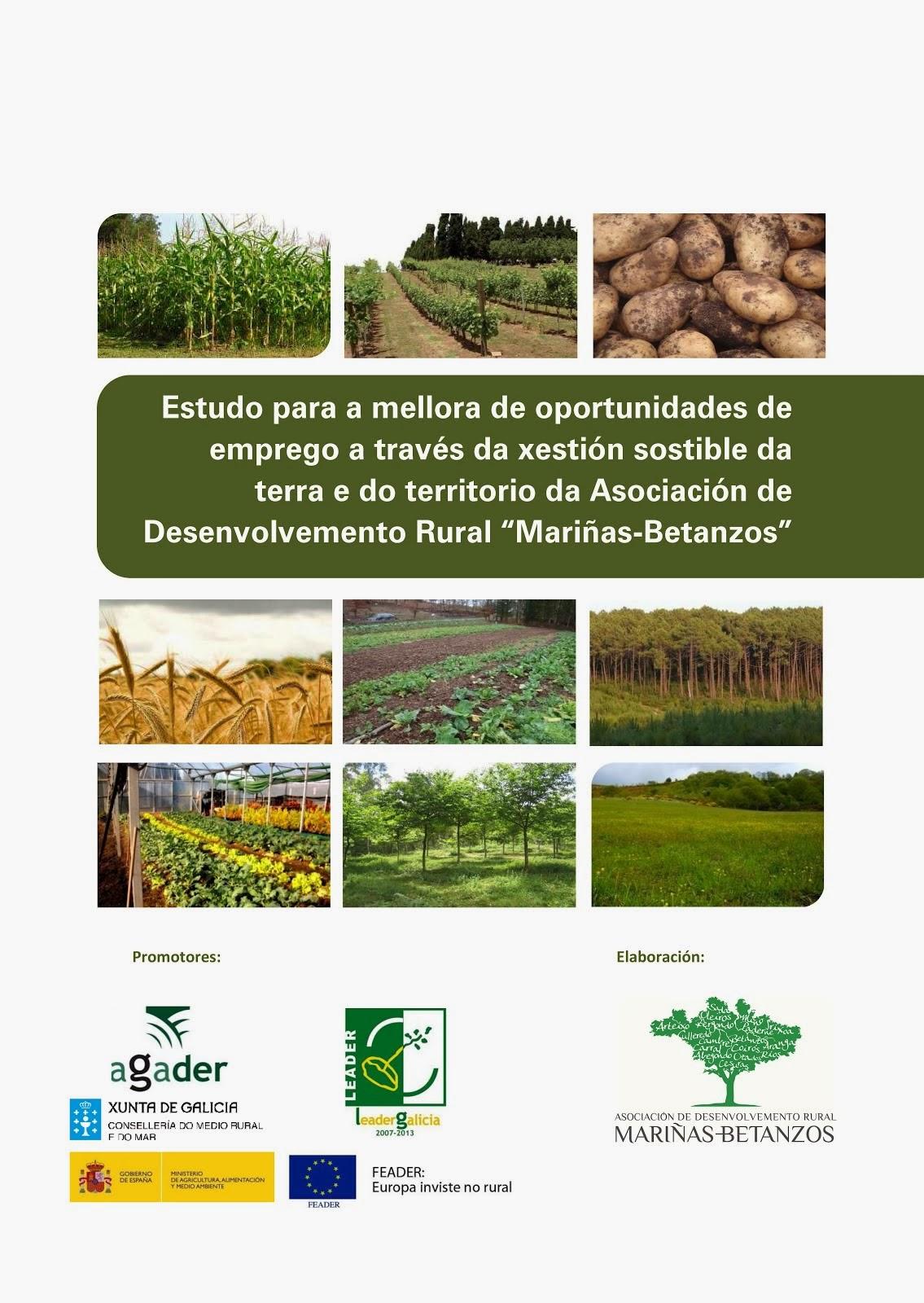Estudo para a mellora de oportunidades de emprego a través da xestión sostible da terra