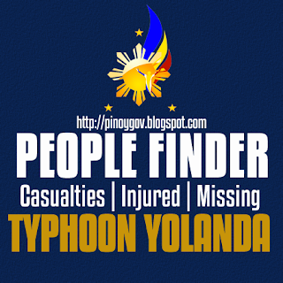 http://pinoygov.blogspot.com/2013/11/searchable-list-of-casualties-typhoon-yolanda.html
