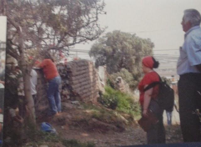 ENTREGANDO APOYOS EN LAS ZONAS ALTAS DE LA PAZ, EDO. MEX.