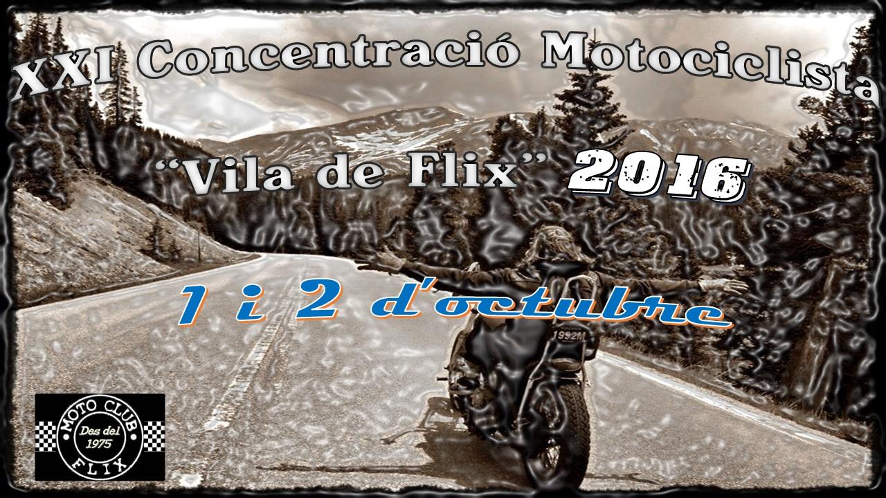 "XXI Concentración Motociclista ""Vila de Flix"" 2015"