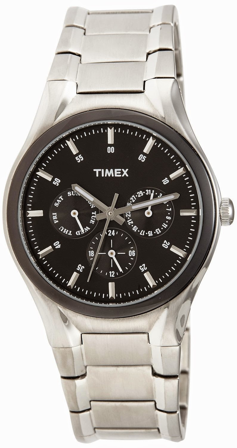 Amazon: Buy Timex Fashion Analog Black Dial Men's Watch Rs.598