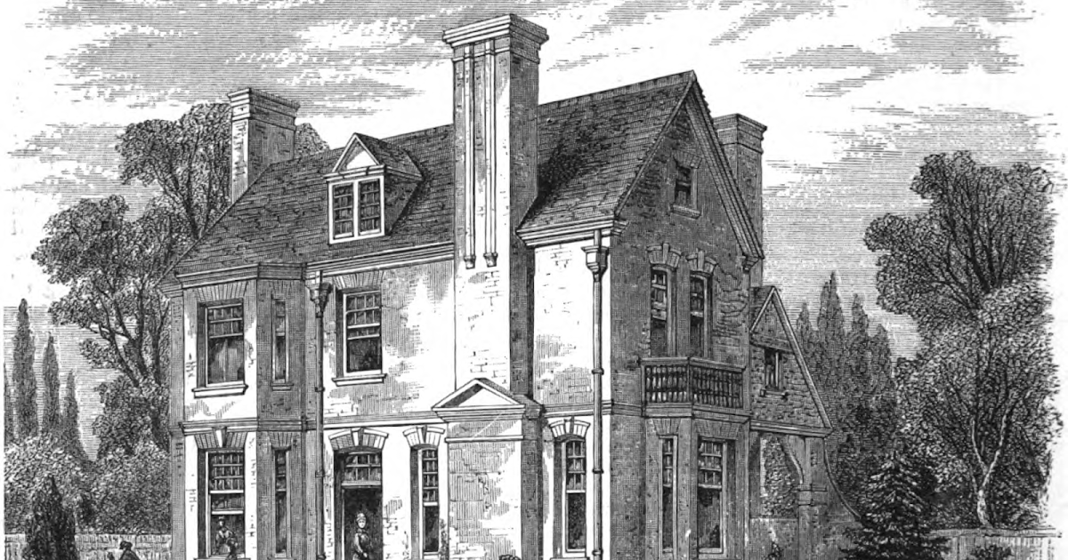 19th century historical tidbits 1883 architecture house plans for 19th century farmhouse plans