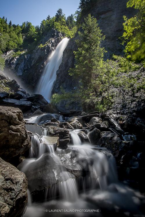 Cascade de l'Alleau - Vénosc - ©LAURENT SALiNO