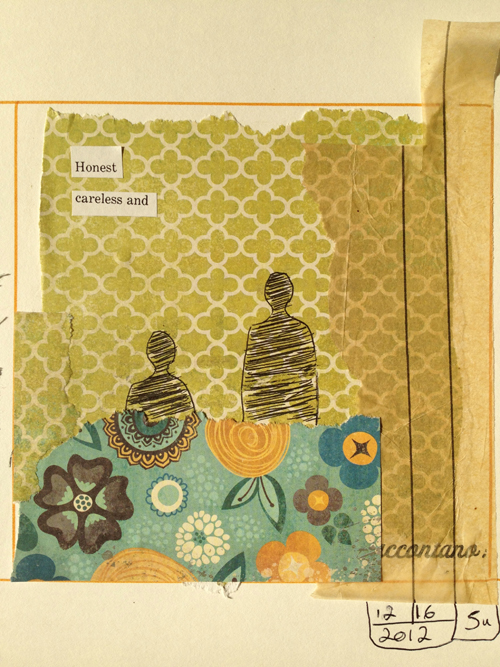 Laura+Bucci+5+Minute+Collage+Inspired Art Journalling Inspiration | Spontaneity and 5 Minute Collages by Laura Bucci