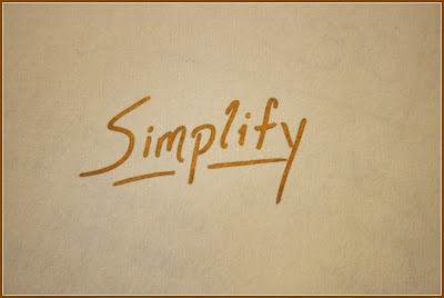 simplify goal for 2014 Compassion Bloggers