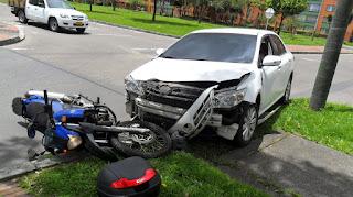 El ocupante en un accidente de tráfico