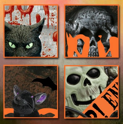 Halloween Freebie - MIX 36 - Commercial Use by Cajoline Cajoline_mix36_zoom