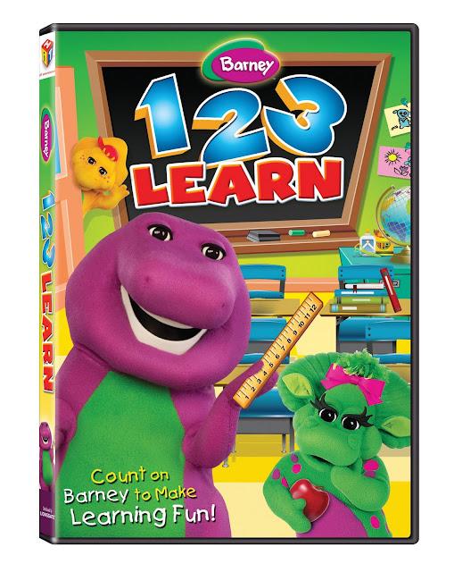 Barney 123 Learn 2011 [DVDRip]