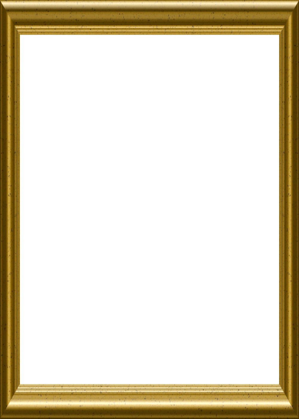 Gold Picture Frame Template