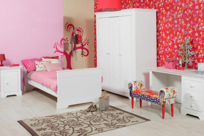 Habitaciones con estilo decorar el dormitorio de una ni a - Dormitorio de nina ...