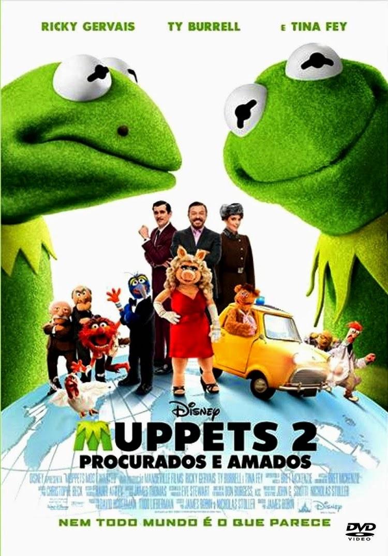 Muppets 2: Procurados e Amados – Dublado (2014)