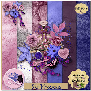 "Free scrapbook ""CSD Blog Train"" from Jessicas Sweet Nothings- Full Size"