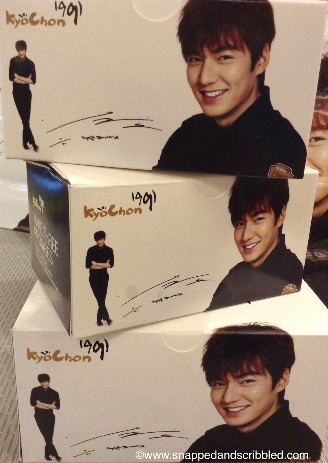 Korean Overload: Lee Min Ho and Kyochon Philippines