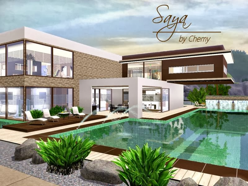 Thesims3 brasil download casa saya modern para the sims 3 for Casa moderna los sims 3