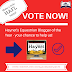 Haynet's Equestrian Blogger Of The Year - Vote NOW!