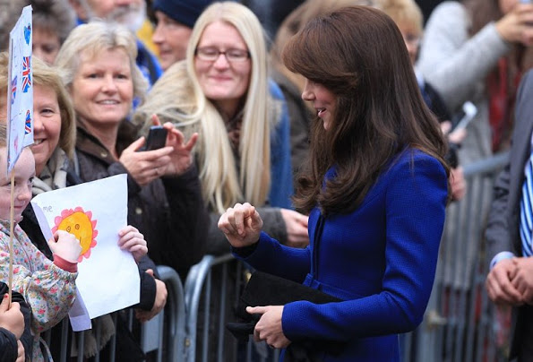 The Duke And Duchess Of Cambridge Visited Dundee