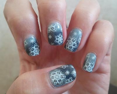 KIKO 328  KIKO 381 gradient nail art