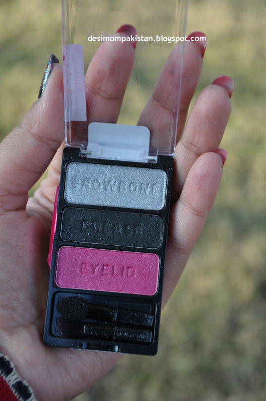 WET n WILD COLOR ICON EYE SHADOW TRIO IN SPOILED BRAT open