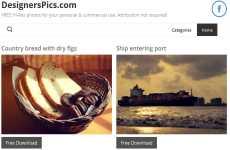 DesignersPics: otro excelente banco de imágenes para descargar fotos gratuitas de libre uso