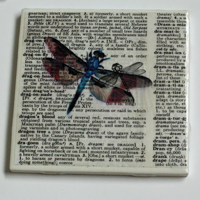 Newsprint Coasters