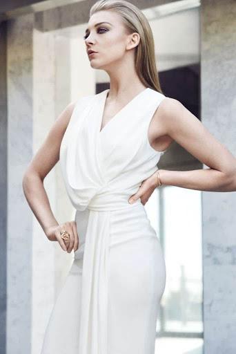 Natalie Dormer photo shoot Fashion Magazine February 2016