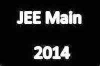 JEE Main 2014 notification