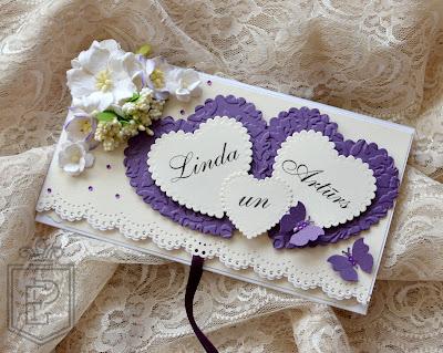 Конверт для денег скрапбукинг на свадьбу