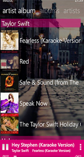 app music player windows phone