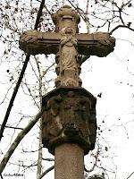 Detall de la Creu de Terme d'Horta. Autor: Carlos Albacete