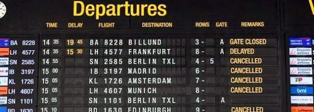 Numerosas empresas reclaman por usted a las aerolíneas