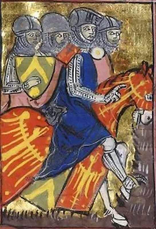 Balduíno I,  rei de Jerusalém.