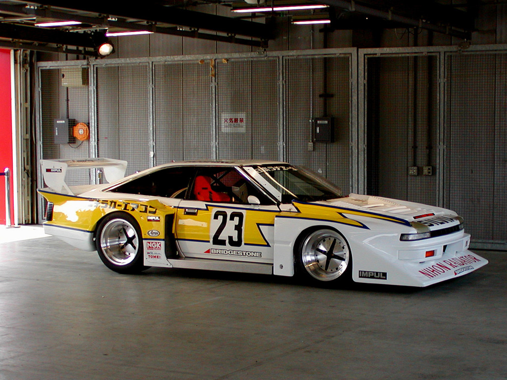 Nissan Silvia, Gazelle, 200SX, JDM, japoński sportowy samochód, wyścigi, sport, rajdy, Super Silhouette, zdjęcia, fotki, 日本車, スポーツカー, 日産, シルビア, ガゼール, スーパーシルエット, S12