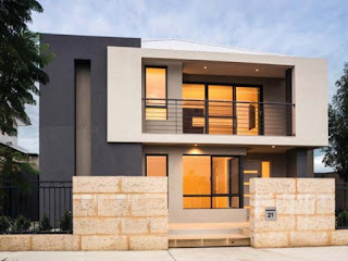 reka bentuk Rumah Minimalis 2 Lantai