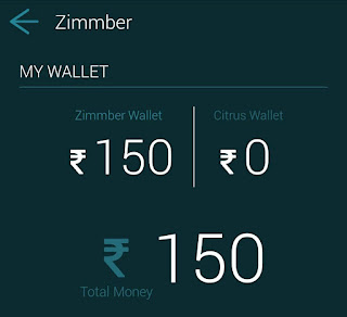 zimmber free wallet cash