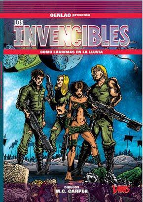 Oenlao presenta: Los Invencibles. Dibujos de Mario Carper