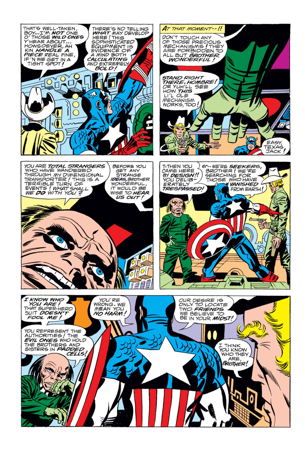 Captain America (1968) Issue #203 #117 - English 4