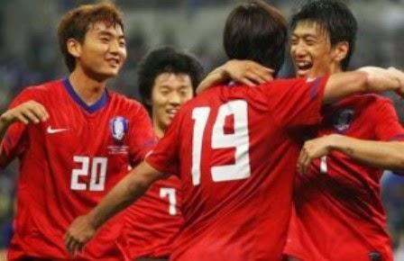Rusia vs Korea Selatan