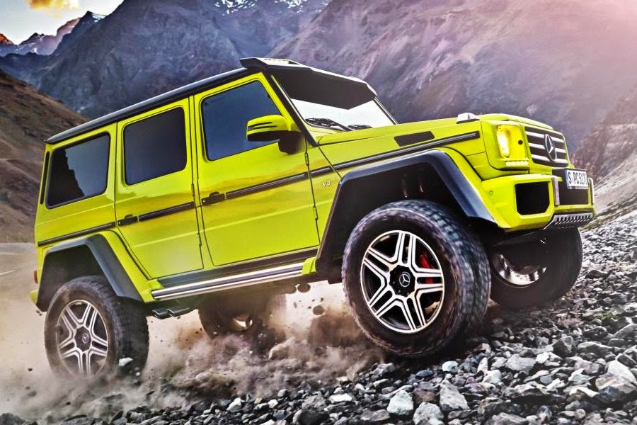 Mercedes-Benz G 500 4x4² Concept (2015) Front Side