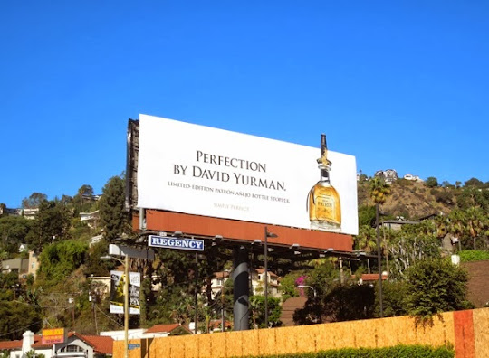 Patrón Tequila David Yurman billboard