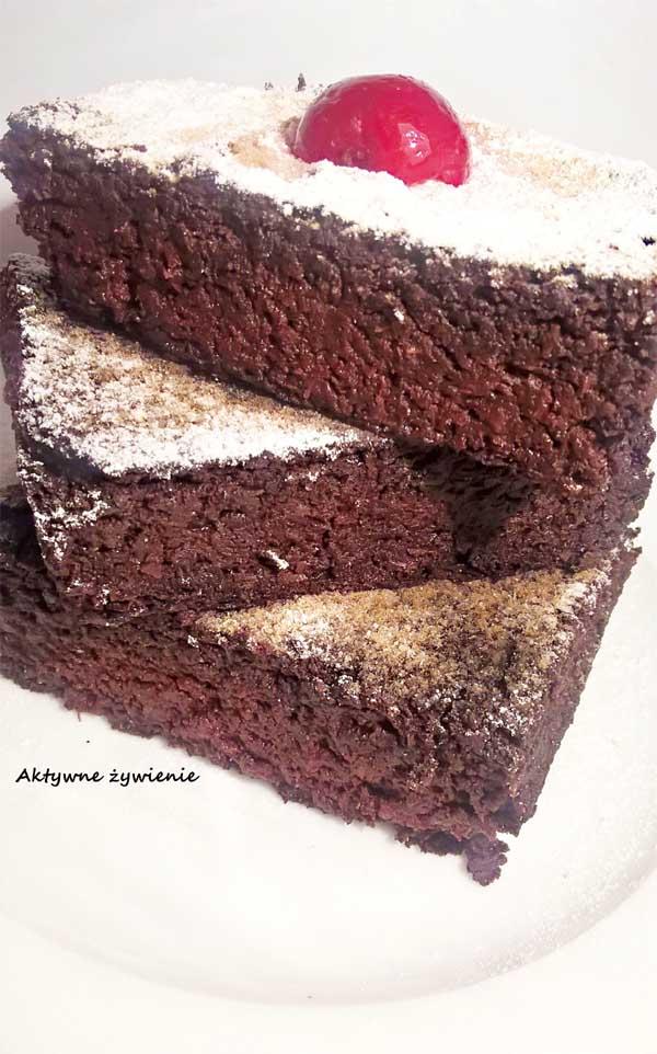 Ciasto buraczano-czekoladowe