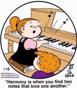 "Is there ""harmony' in your life?"