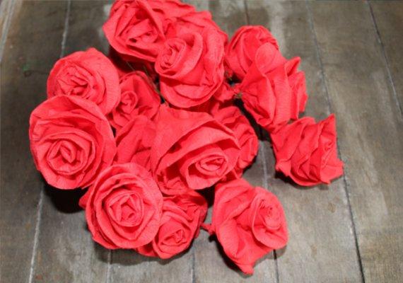 Rose Basteln Serviette Dansenfeesten