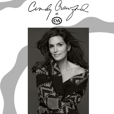 Cindy Crawford at C&A