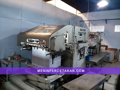 SUGANO Die Cutting Machine
